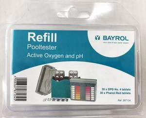 Bilde av Refill for tablettester, active oxygen og pH